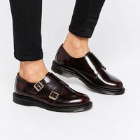 Dr Martens Pandora Double Monk Stap Flat Shoes