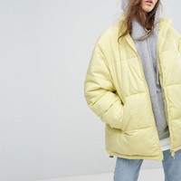 Weekday Press Collection Padded Jacket at asos.com