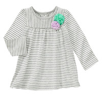 Striped Rosette Top at Gymboree