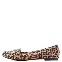 QUIPID BUCKLED LOAFER FLATS