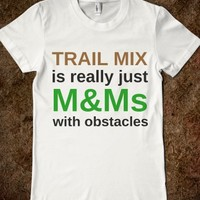 Trail Mix-Female White T-Shirt