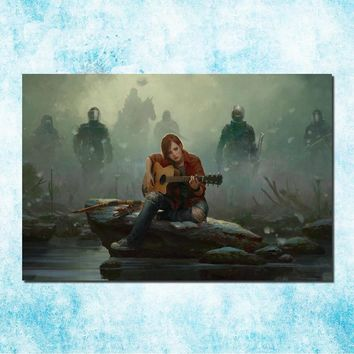 The Last Of Us Art Silk Canvas Poster Print Zombie Survival Horror Action TV Game Pitcures 13x20 inches (more)-10