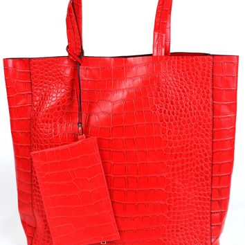 Urban Traveler Tote Red