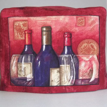Wine Bottles - 2 slice Toaster Cover