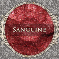 SANGUINE Mineral Eyeshadow: 5g Sfter Jar, True Red, Natural Cosmetics, Shimmer Eyeshadow