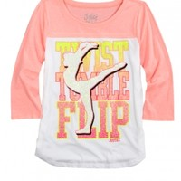 Neon Sports Tee | Girls {category} {parent_category} | Shop Justice