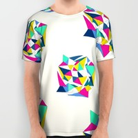 Geometric Worlds All Over Print Shirt by Sandra Arduini