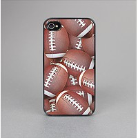 The Football Overlay Skin-Sert for the Apple iPhone 4-4s Skin-Sert Case