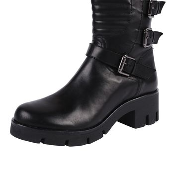 Peperosa Leather Moto Boot