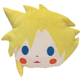 Final Fantasy 15'' Cloud Head Plush Pillow Prize Anime Manga NEW