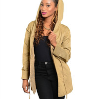 Taupe Light weight Jacket