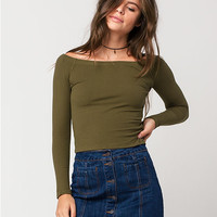 AMBIANCE Off The Shoulder Womens Top   Tops 4 for $25
