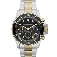 Michael Kors Oversized Two-Tone Stainless Steel Everest Chronograph Watch
