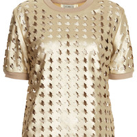 **Nico Laser Cut PU Leather Top by Jovonnista - New In This Week  - New In