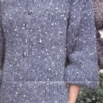 Tweed Polo Sweater Pattern