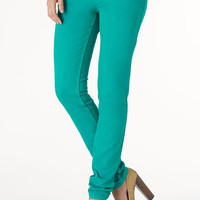 Paris Blues Colored Skinny Jean at Alloy