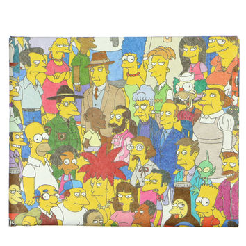 SIMPSONS CAST WALLET