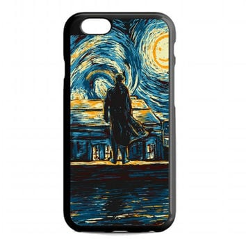 Starry Fall Sherlock Holmes For iphone 6 case