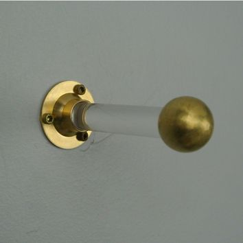 Lucite Robe Hook