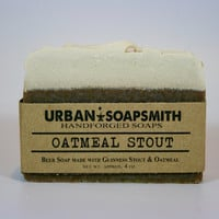 Oatmeal Stout Beer Soap - Cold Process Soap, Bar Soaps, Beer Soap, Handmade Soap, Bath & Beauty, Father's Day Gifts, Unisex Soap, Mens Soaps
