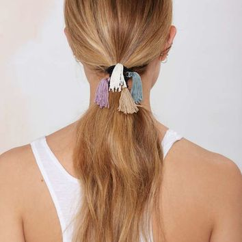 Veronica Tassel Hair Tie Set
