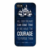 disney quotes case for iphone 5 5s