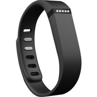 Fitbit - Flex Wireless Activity and Sleep Tracker Wristband - Black