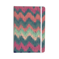 "Nika Martinez ""Ikat Chevron"" Multicolor Everything Notebook"
