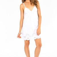 Down the Eyelet Dress $43