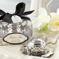 "24 ""Tea for Two"" Bridal Wedding Favor Tea Infuser"