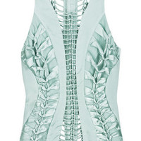 Zimmermann Corseted silk-satin top – 65% at THE OUTNET.COM