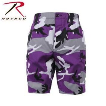 Color Camo BDU Shorts