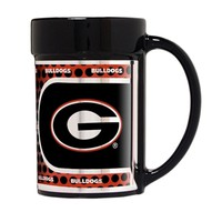 Georgia Bulldogs 15 oz. Ceramic Mug | UGA Mugs | Georgia Bulldogs Mug