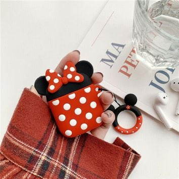Minnie Mouse Disney Apple Airpods Case FREE SHIPPING