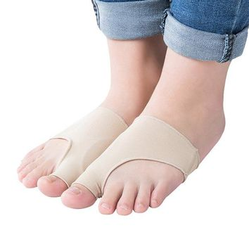 Big Toe Hallux Valgus Corrector Orthotics Feet Care Bone Thumb Pedicure Socks Bunion Straightener