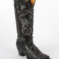 Corral Studded Applique Cowboy Boot