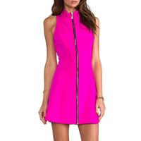 Naven A-Line Mod Dress in Pink