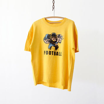vintage USC t-shirt,  1970s college football tee