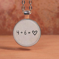 Divergent 4 + 6 Tobias + Tris Dauntless Pendant Necklace Inspiration Jewelry
