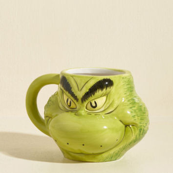 Grinch from Ear to Ear Mug