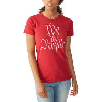 We The People Constitution Ladies Vintage T-Shirt