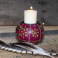 Bohemian Tealight Holder