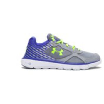 Under Armour Girls' Grade School UA Micro G Velocity Reflective Running Shoes