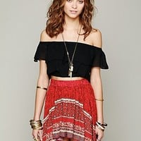 Free People Womens Freedom Frills Cami -