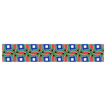 "Bruce Stanfield ""South Africa"" Multicolor Table Runner"