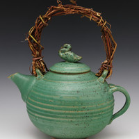 Duck Teapot 43 by Ron Mello: Ceramic Teapot | Artful Home