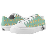 Cool Hot Dogs Pattern Printed Shoes