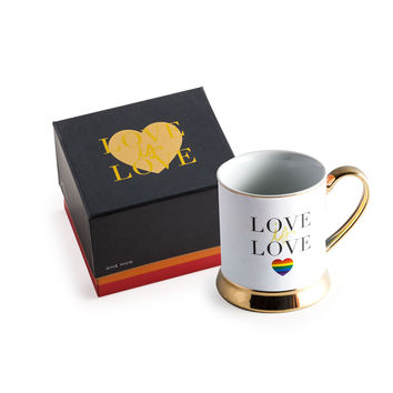 Rosanna Inc. All You Need Is Love Mug Love Is Love