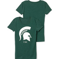 Michigan State University Crewneck Tee