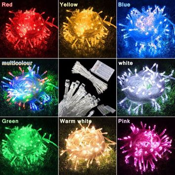 3M 30 LED Battery Operated LED String Lights for Xmas Garland Party Wedding Decoration Christmas Fairy Lights
